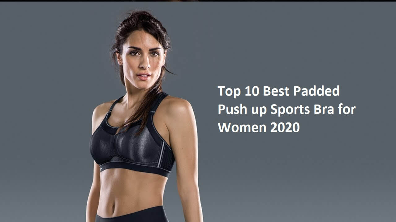 #10 Best Plus Size Padded Push up Sports Bra