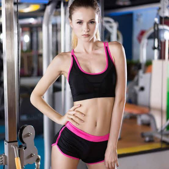 Best Fitness Sports Bra and Shorts