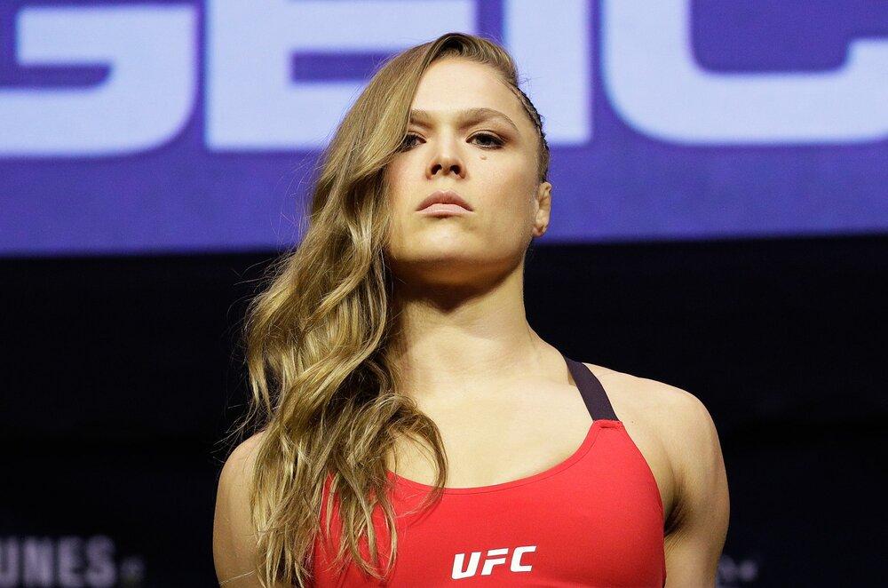 Ronda Rousey America Female Judo Player