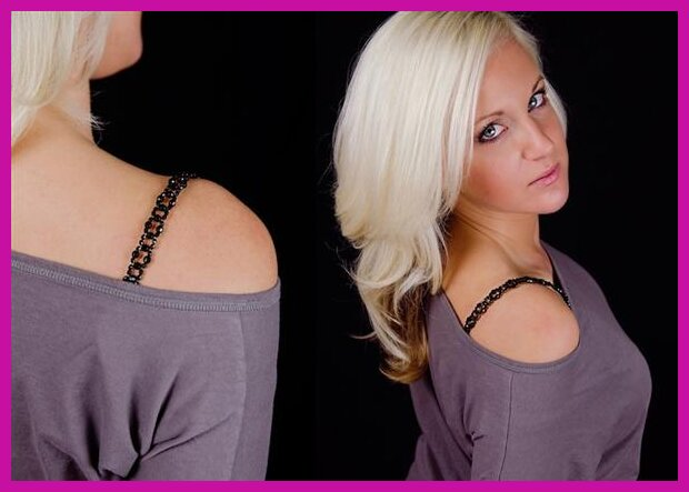 how to keep bra straps from showing tank top