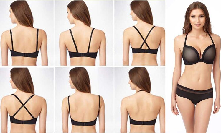 How to wear off-the-shoulder Tops with Bra