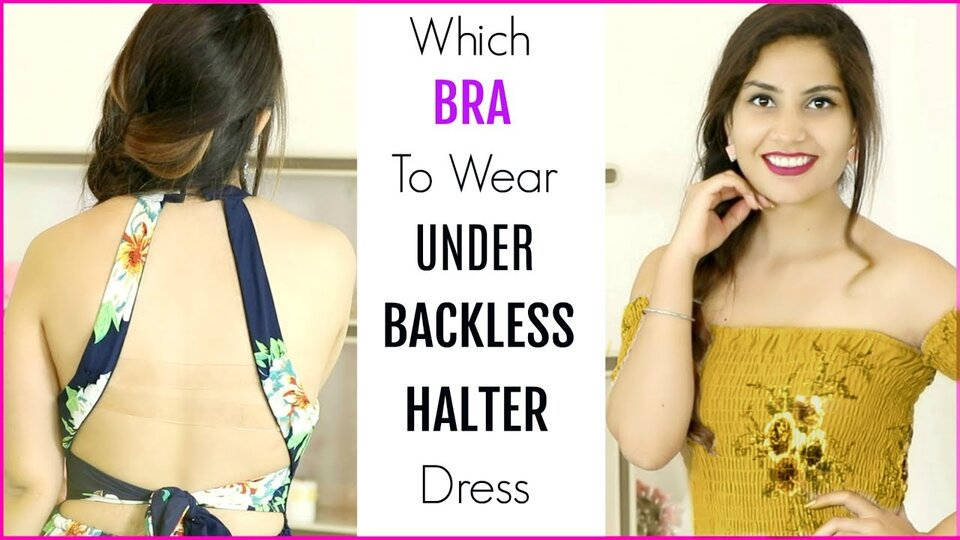 What Bra to Wear with a Halter Top