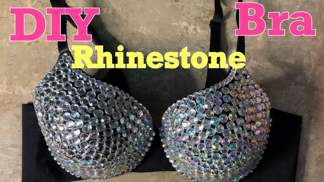 How to Bedazzle a Bra