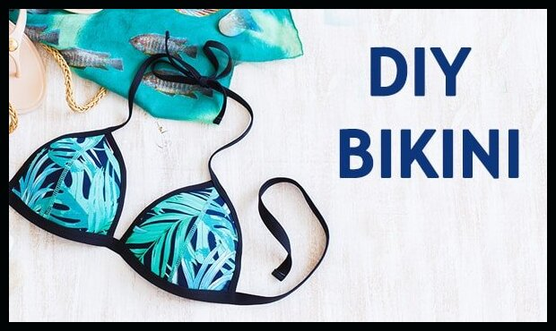 How to make a Swimsuit out of a Bra