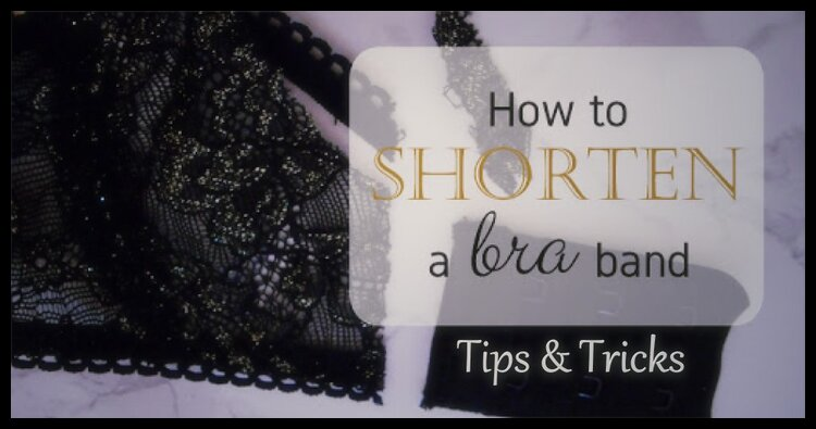 How to make a bra band smaller