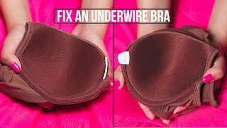 How to Stop Bra Band from Curling